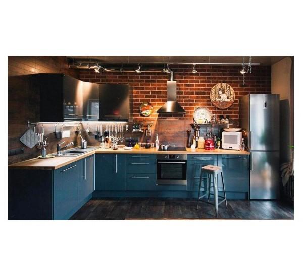 Варианты дизайна и особенности кухонь в стиле лофт