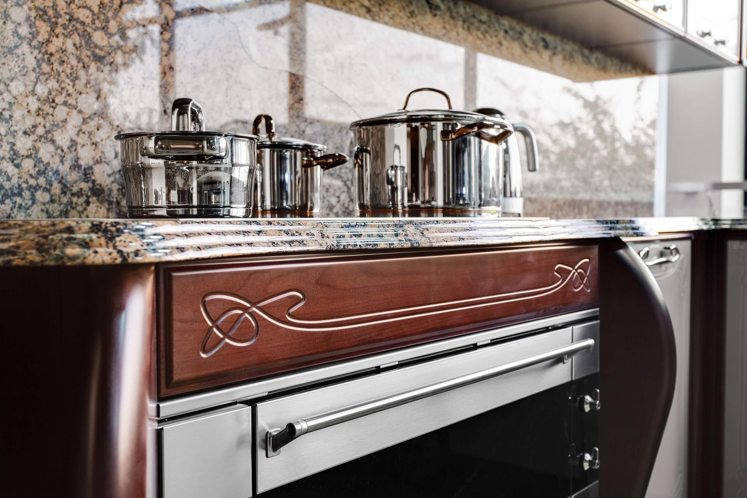 Кухня Дриада Blues (Беатриче)
