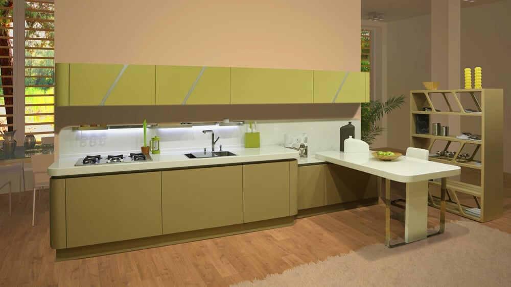 Кухня Дриада Linea (Ольга) 2