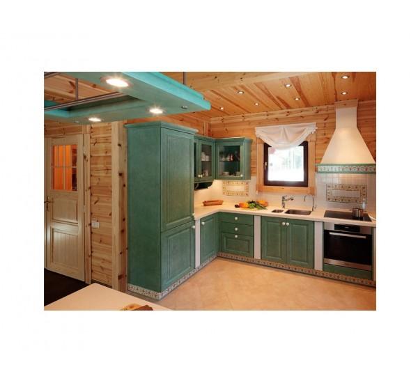 Как выбрать хорошую кухню для загородного дома и уложиться в небольшой бюджет